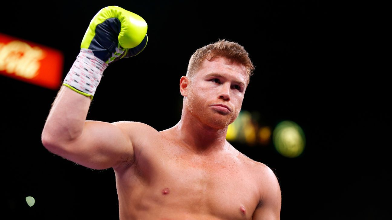 Sources -- Canelo Alvarez, Caleb Plant agree to terms on undisputed super middleweight title bout in November