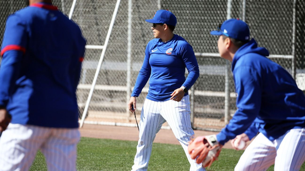 Cubs' Rachel Folden is swinging away at stigma that 'women can't coach baseball'