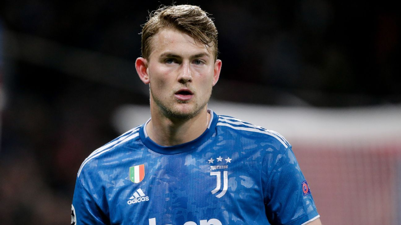 Man United renew interest in Juventus defender De Ligt - sources - ESPN