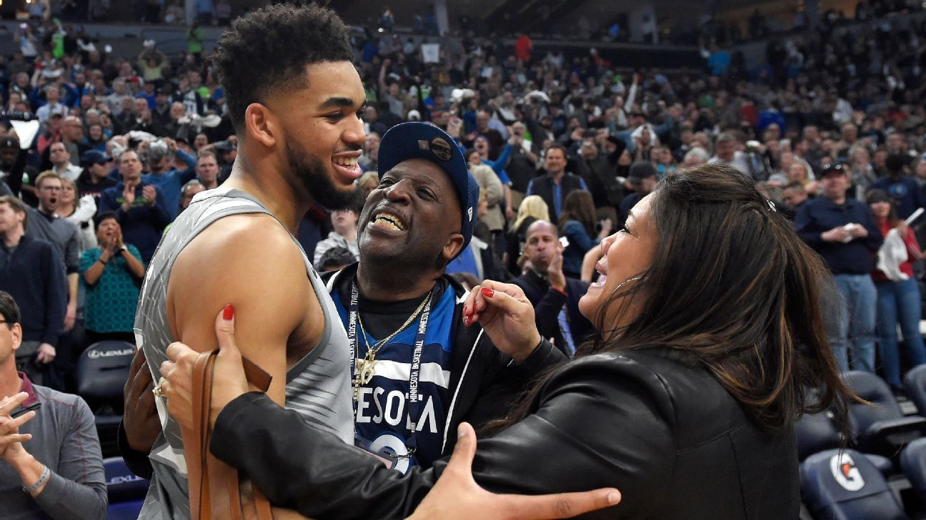 Wolves President Karl Anthony Towns Showing Incredible Strength After Death Of Mother