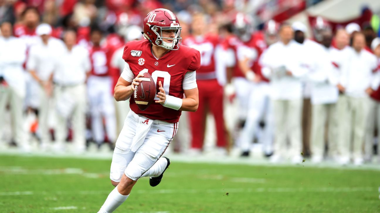 Quarterback Mac Jones now favorite to be selected third overall by San Francisco 49ers – ESPN