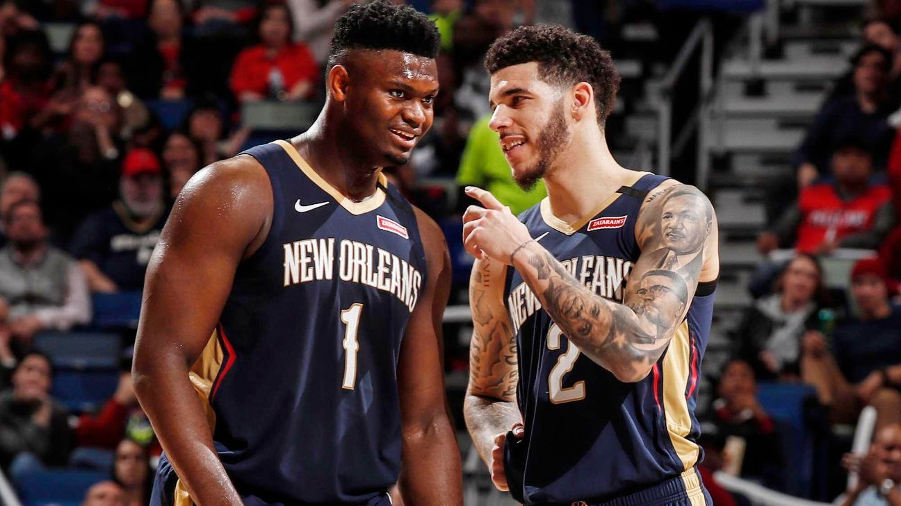 The Zion Williamson - Lonzo Ball connection