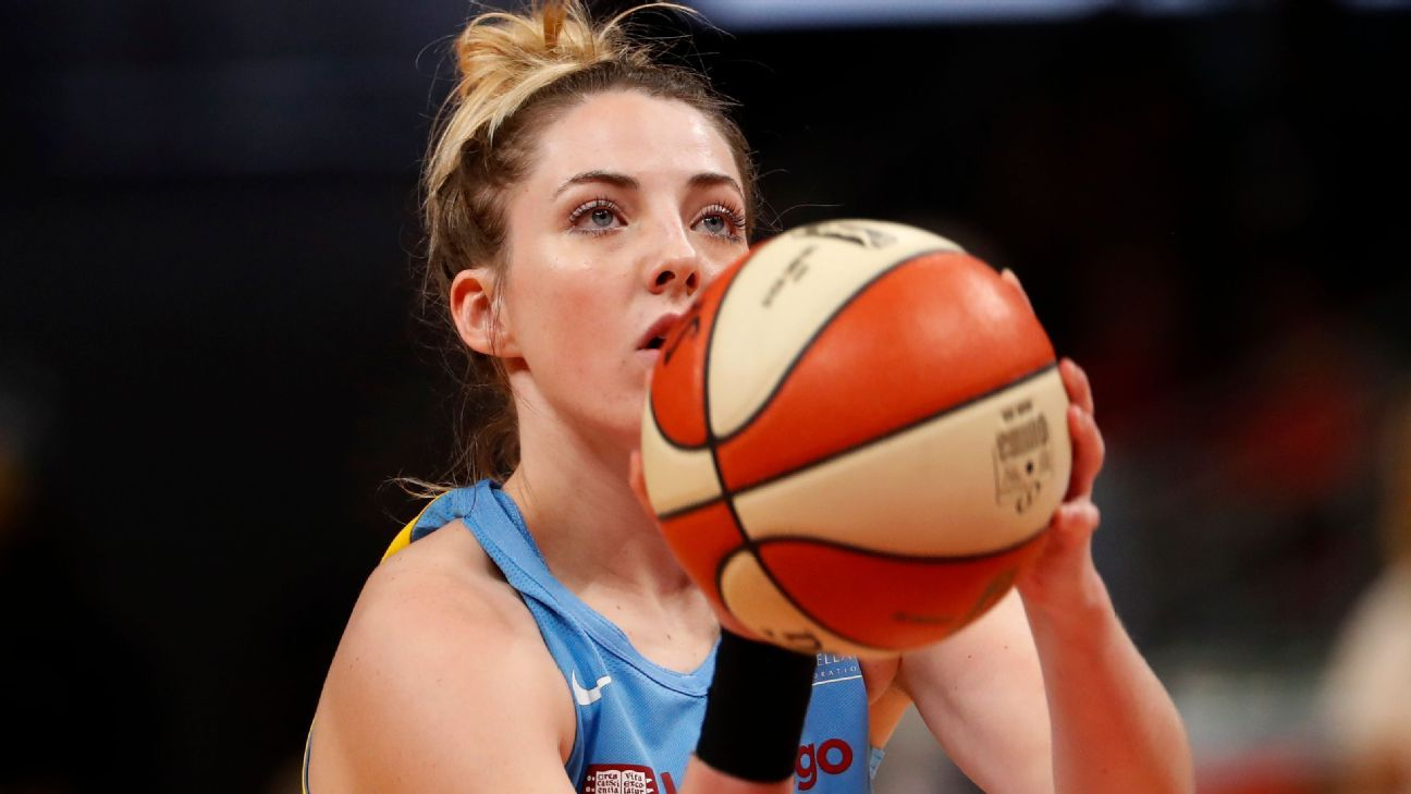Katie Lou Samuelson on mental health: 'I was in denial about how I felt'