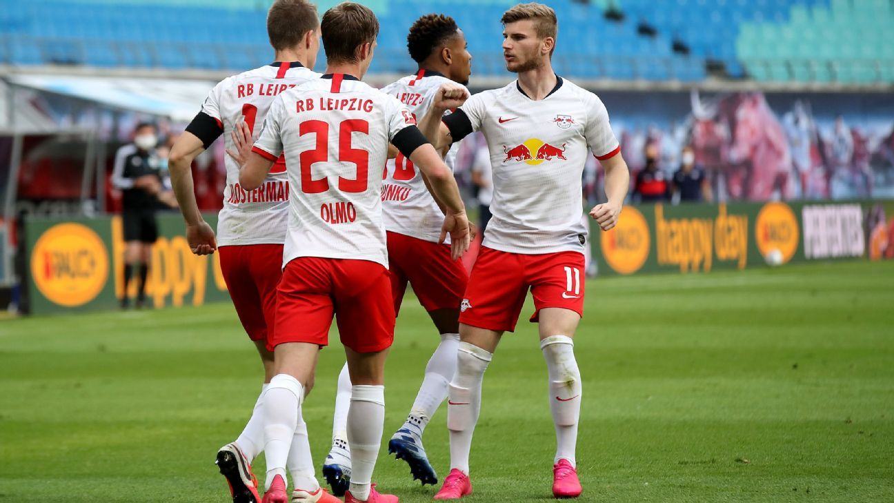 Rb Leipzig Vs Hertha Berlin Football Match Summary May 27 2020 Espn
