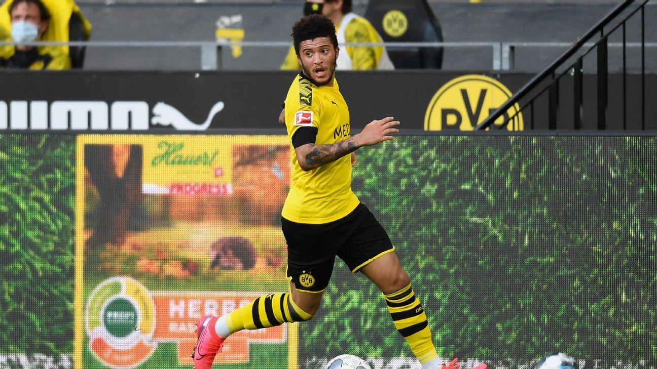 Dortmunds Sancho feels pressure amid transfer speculation Delaney - ESPN