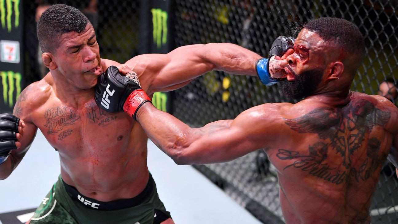 UFC Fight Night - Who's next for Gilbert Burns, Tyron Woodley and Mackenzie  Dern?