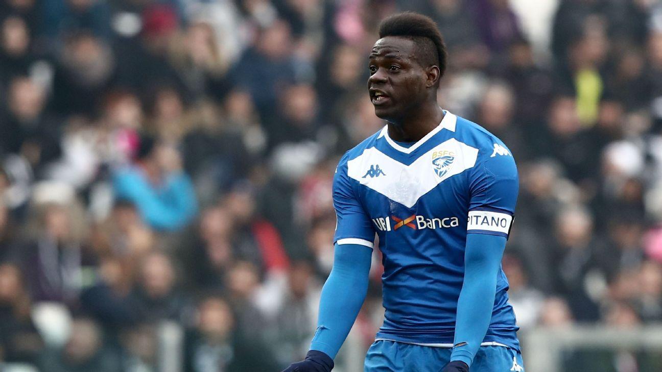 Brescia to terminate Balotelli contract - reports