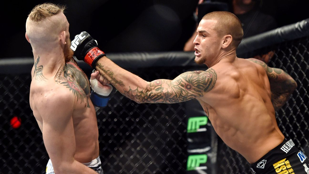 UFC options for vacant lightweight title include Conor McGregor vs. Dustin Poirier