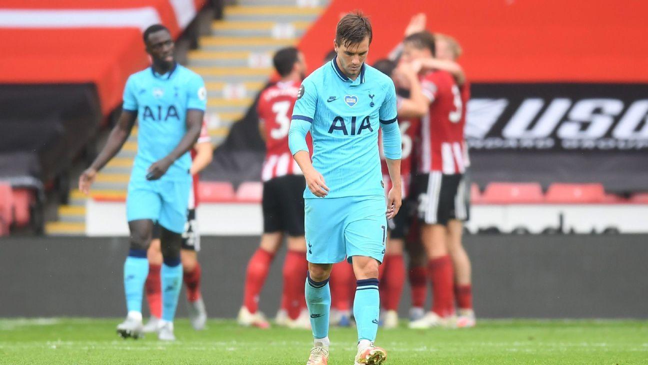 Sheffield United vs. Tottenham Hotspur - Reporte del Partido - 2 julio, 2020 - ESPN