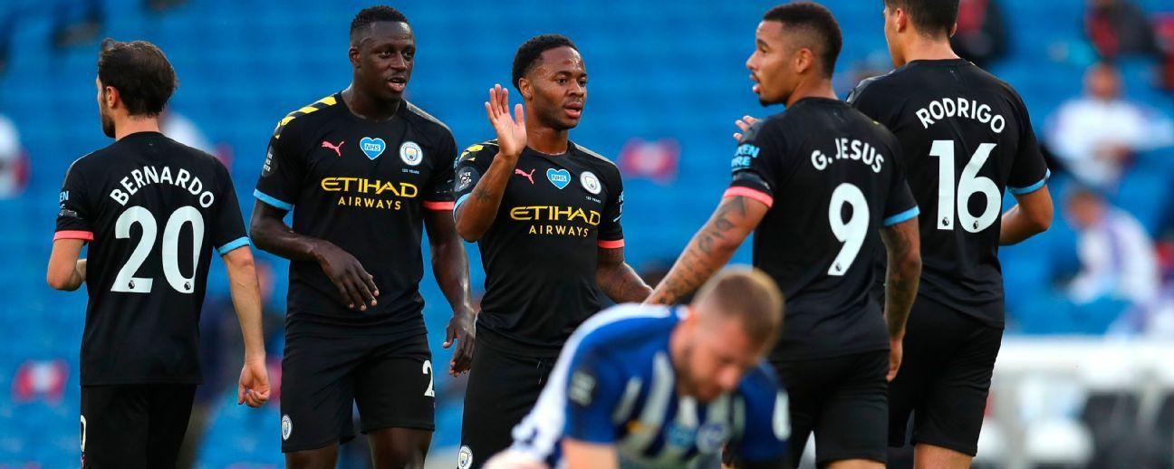 Brighton & Hove Albion vs. Manchester City - Reporte del Partido - 11 julio, 2020 - ESPN