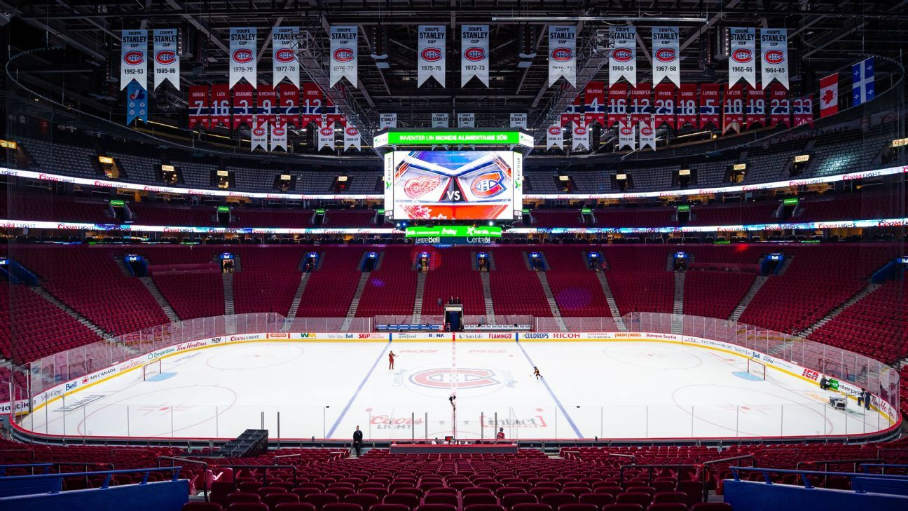 Oilers-Canadiens postponed as two Montreal players enter NHL's COVID-19 protocol