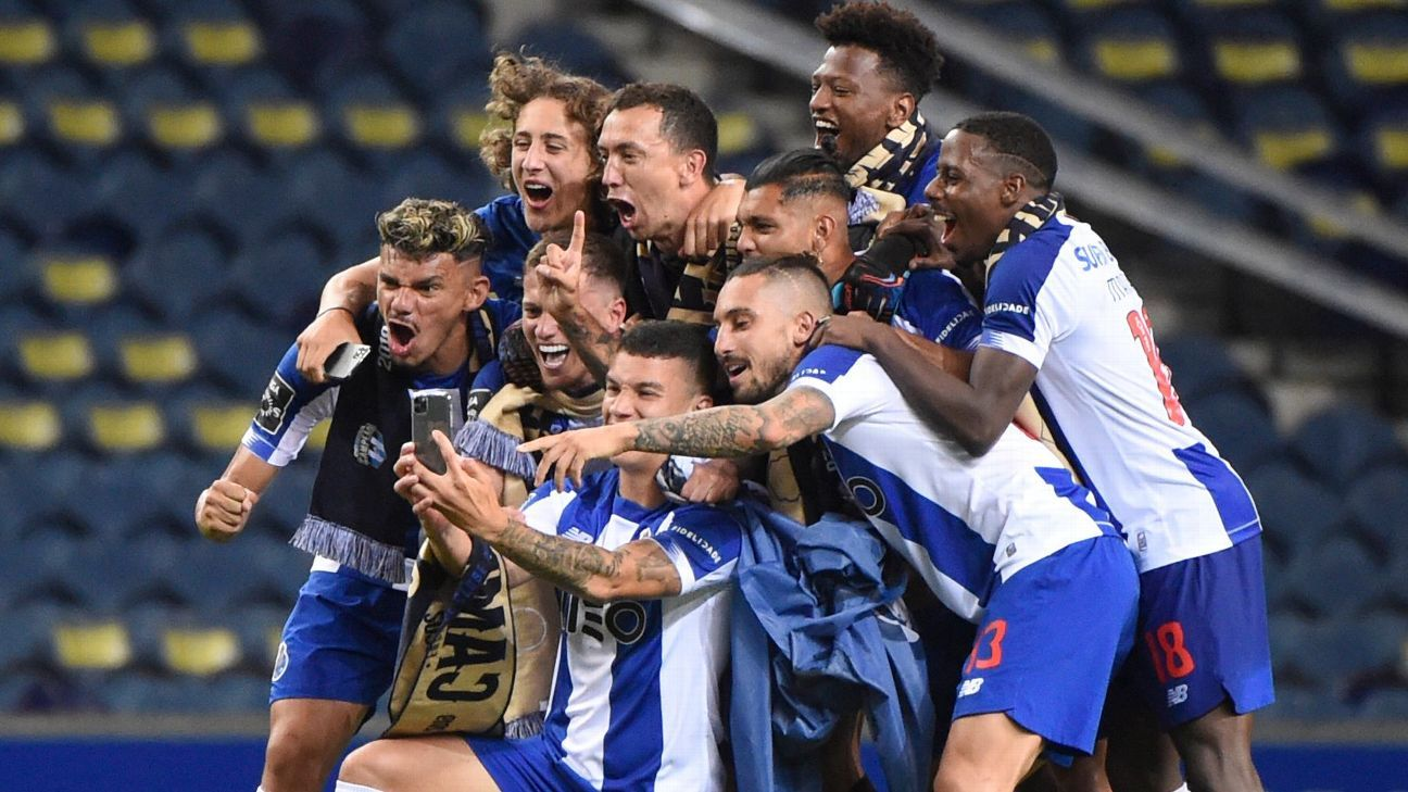Fc Porto Vs Sporting Cp Football Match Report July 15 2020 Espn