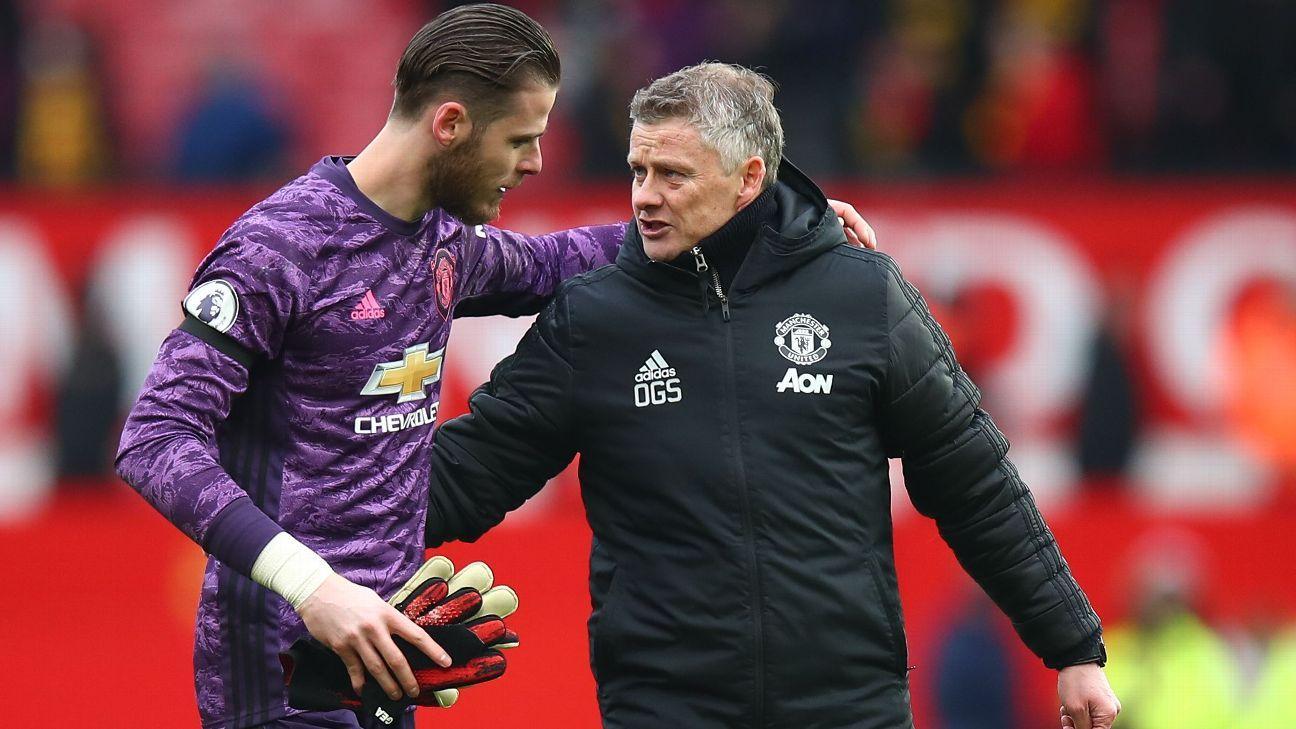 David De Gea uncertain about his Manchester United future - sources - ESPN