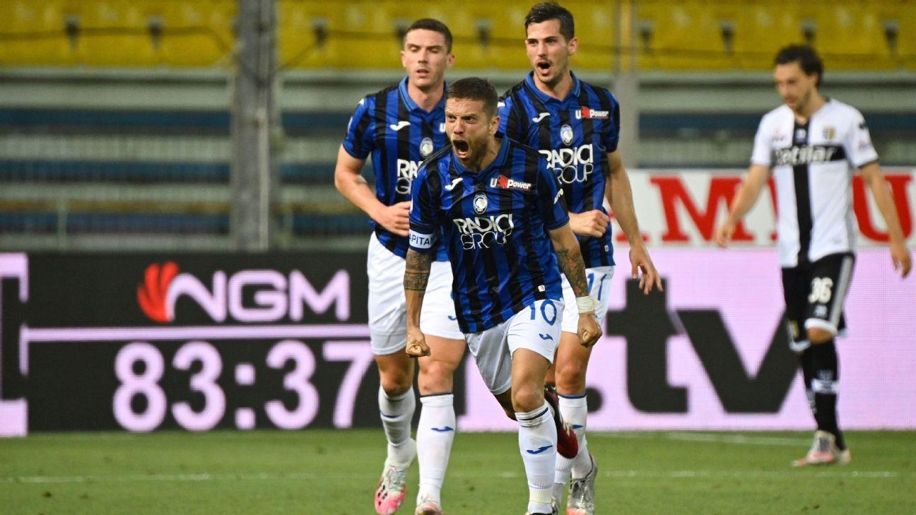 Parma vs. Atalanta - Reporte del Partido - 28 julio, 2020 - ESPN
