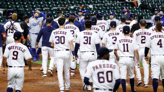 Dodgers Astros Breakdown Inside The Wild Benches Clearing Sixth Inning And What S Next