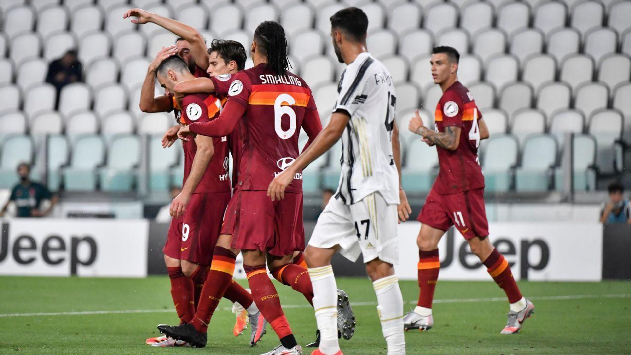 Juventus vs. AS Roma - Reporte del Partido - 1 agosto, 2020 - ESPN
