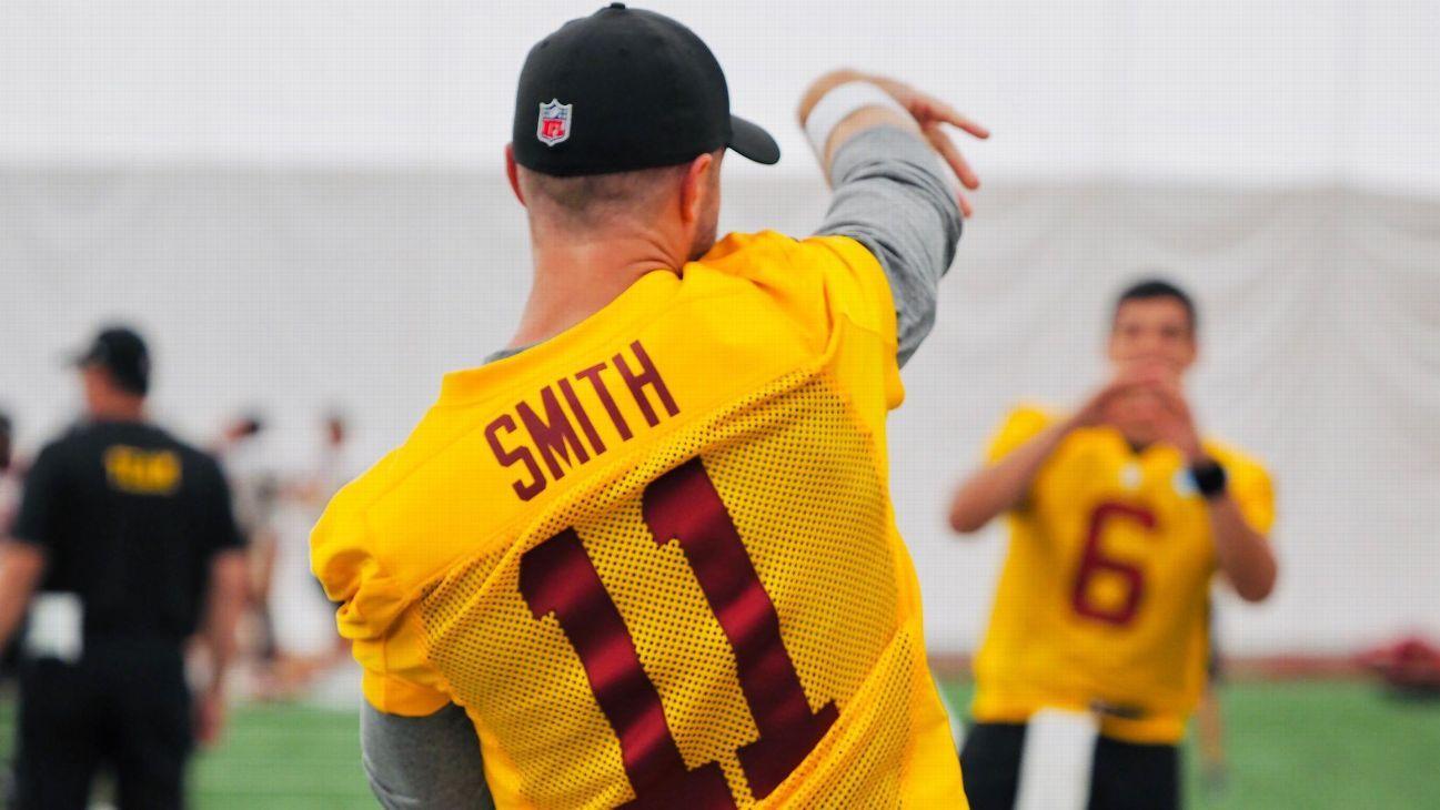 NFL training camp 2020 – Good news for Alex Smith Gardner Minshew – ESPN
