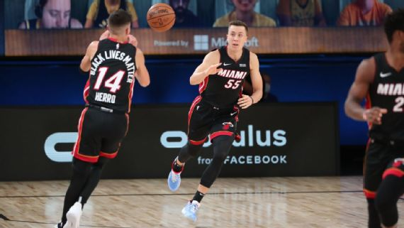 Nba Playoffs The Miami Heat S Duncan Robinson Steps Into The Sunlight