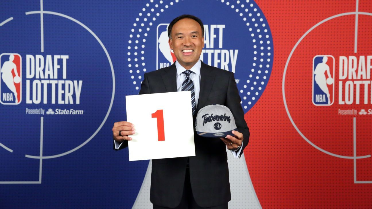 Behind the scenes at the weirdest NBA draft lottery ever – ESPN
