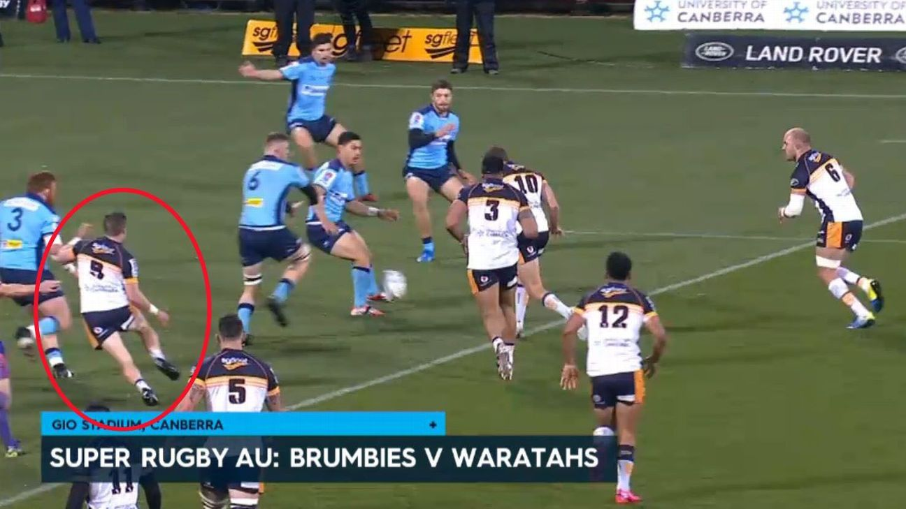 Super Rugby Au R8 What Screen Was The Tmo Watching
