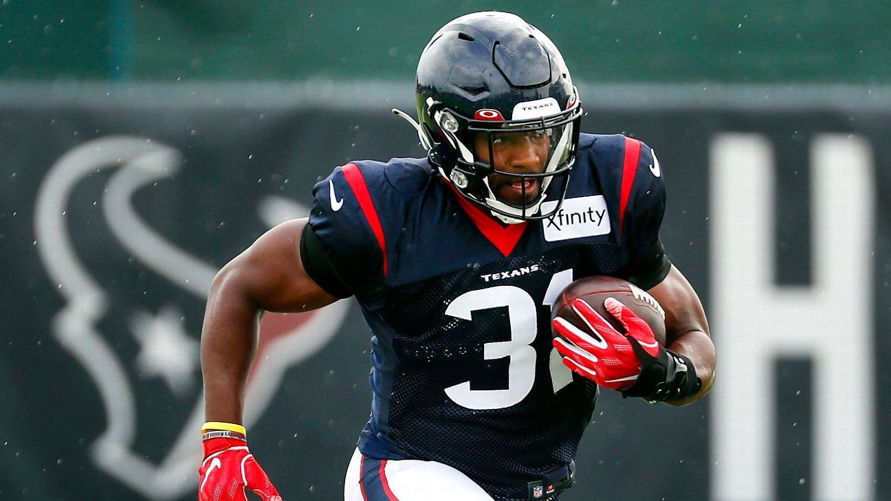 Houston Texans 2020 season preview - Can they count on David Johnson?