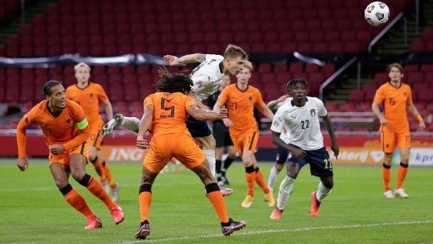 Netherlands vs. Italy - Football Match Summary - September ...