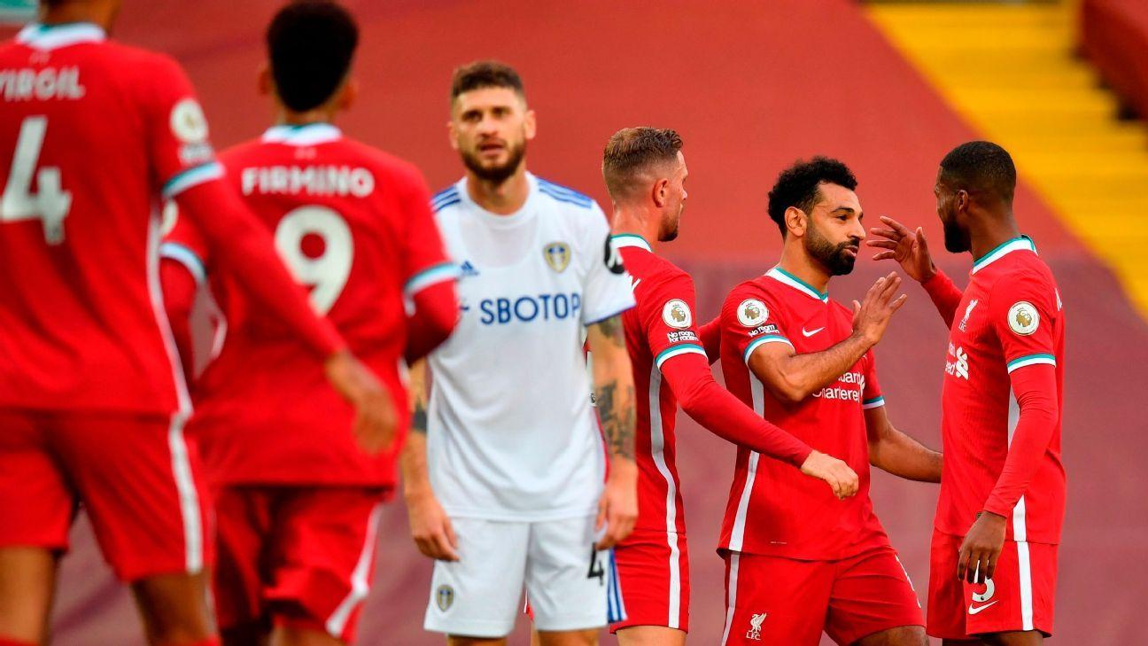 Liverpool vs. Leeds United - Reporte del Partido - 12 septiembre, 2020 - ESPN