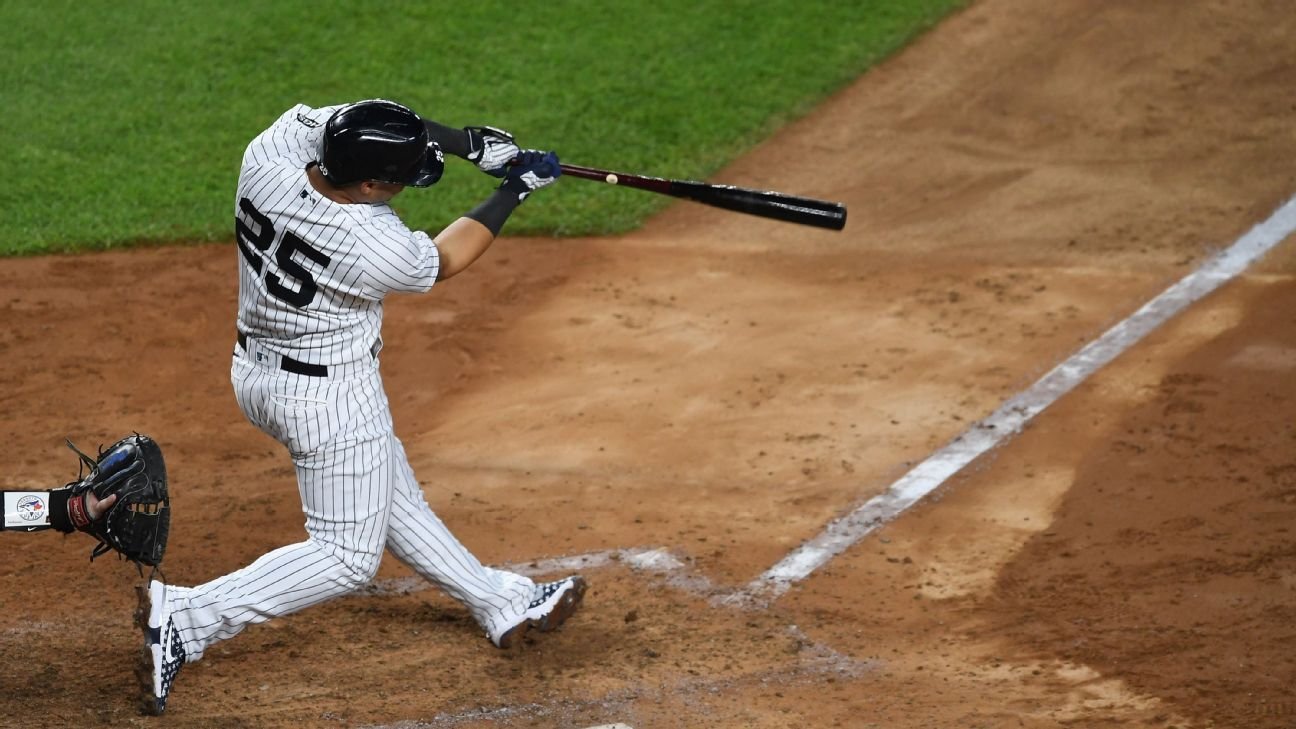 Yanks set franchise first with 5 HRs in one inning