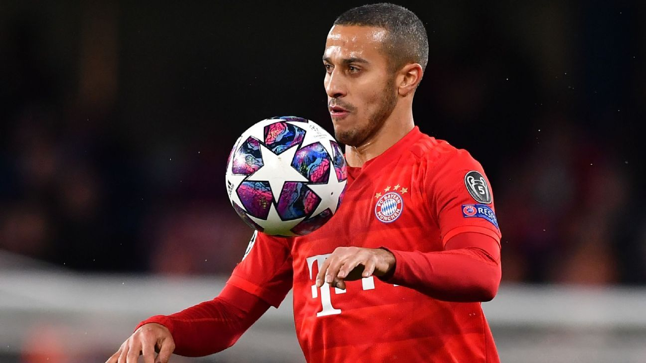 Thiago Alcántara se despidió del Bayern Munich