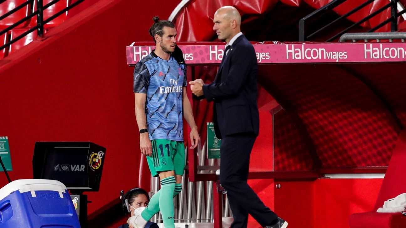 Real Madrid boss Zidane denies Bale rift ahead of Tottenham deal - ESPN