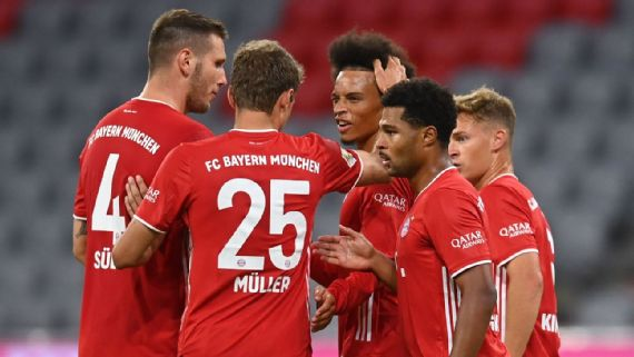 Bayern Munich Look Dominant In Bundesliga But Is Their Squad Too Thin To Defend Treble