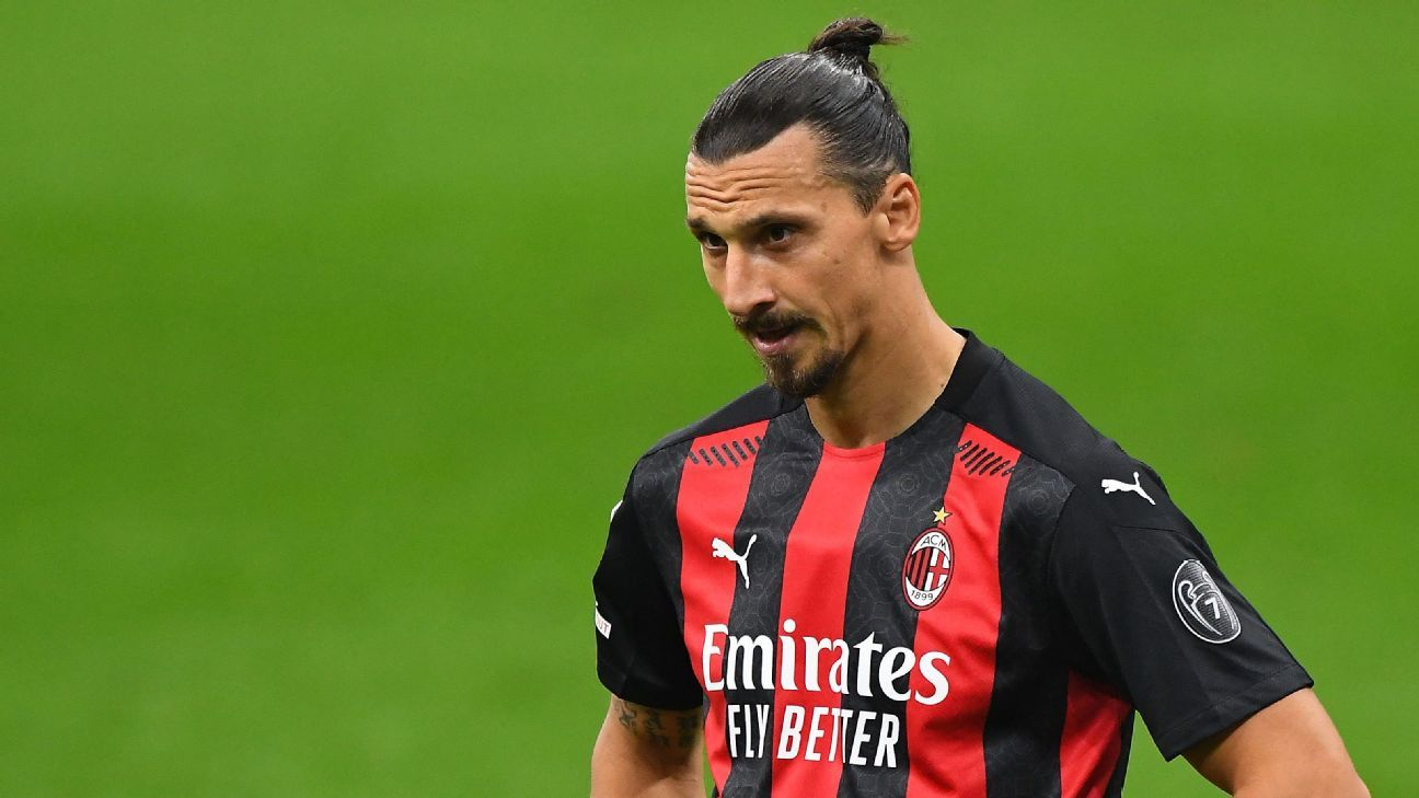 AC Milan: Zlatan tests positive for coronavirus