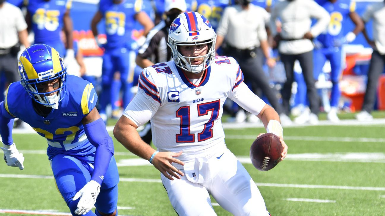 Fantasy Football Highs And Lows From Nfl Week 3 Josh Allen Russell Wilson On Historic Pace