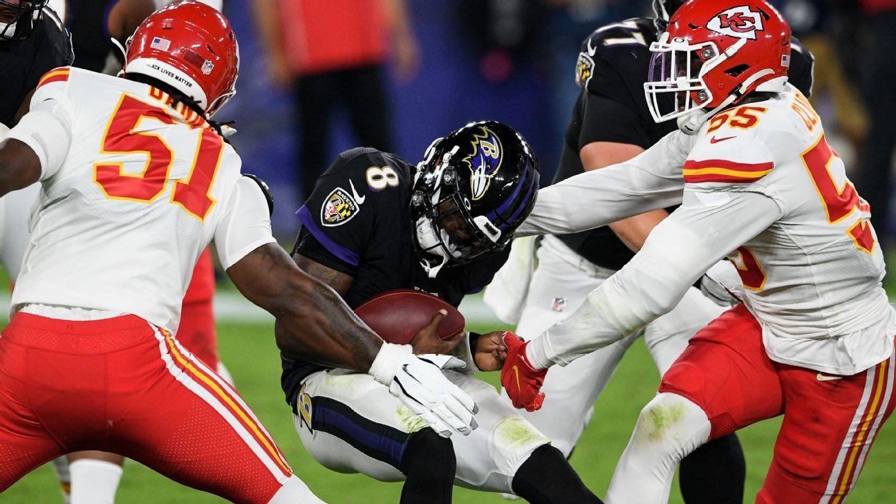 Baltimore Ravens' Lamar Jackson calls Kansas City Chiefs 'our kryptonite' after another loss thumbnail