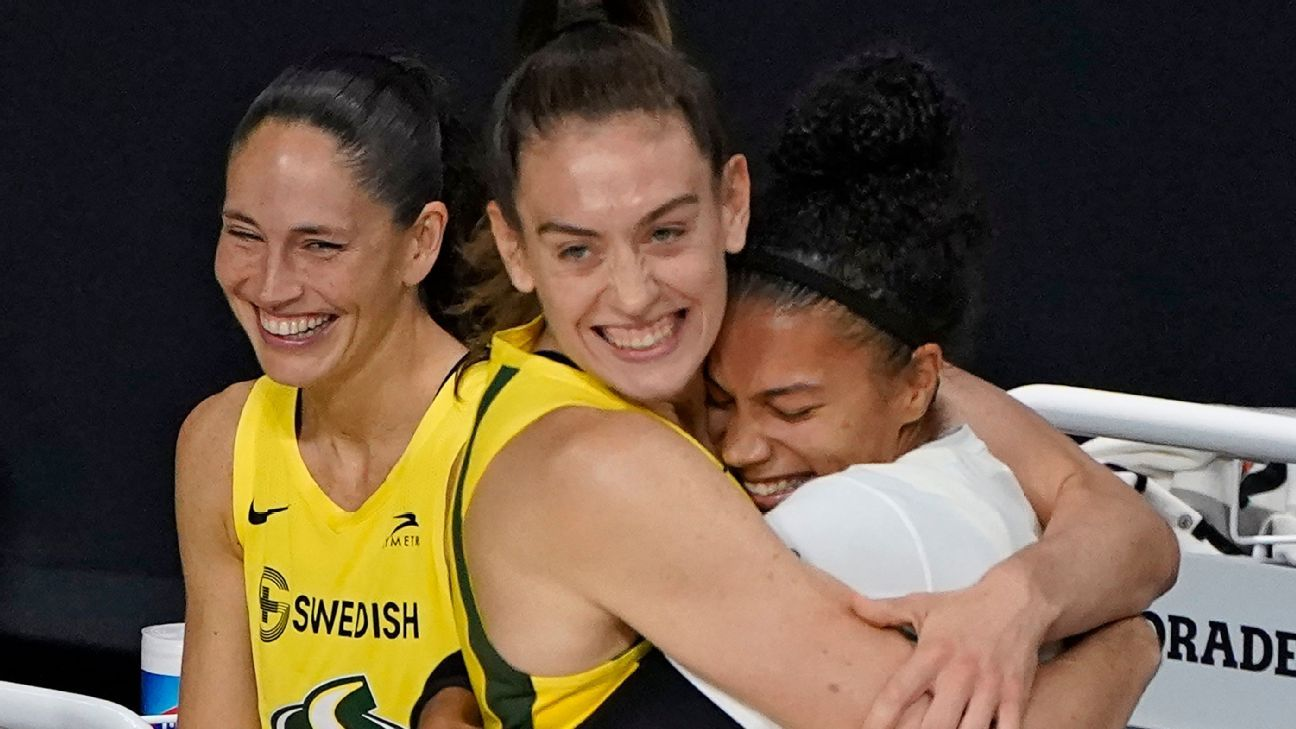 Breanna Stewart named WNBA Finals MVP after leading Seattle Storm to fourth WNBA championship – ESPN