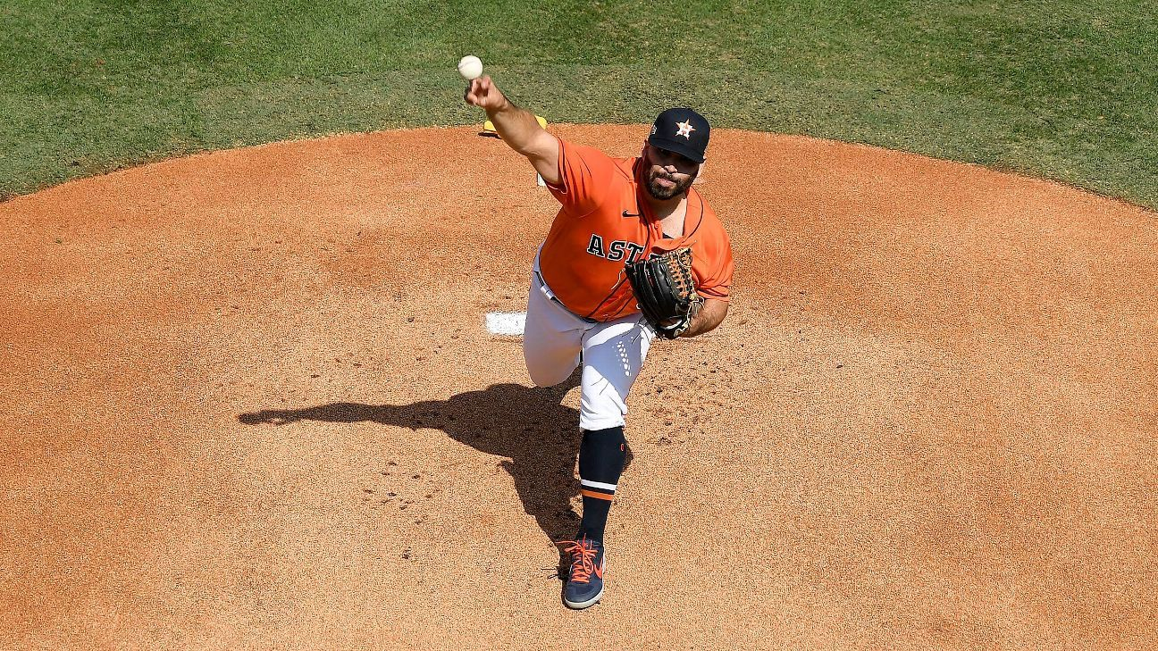 Houston Astros to start Jose Urquidy in ALCS Game 3; Boston Red Sox undetermined
