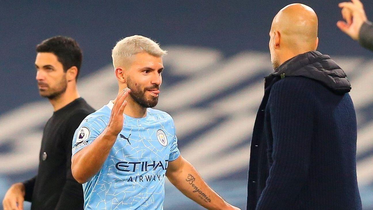 El Kun Agüero volvió a jugar en el triunfo de Manchester City