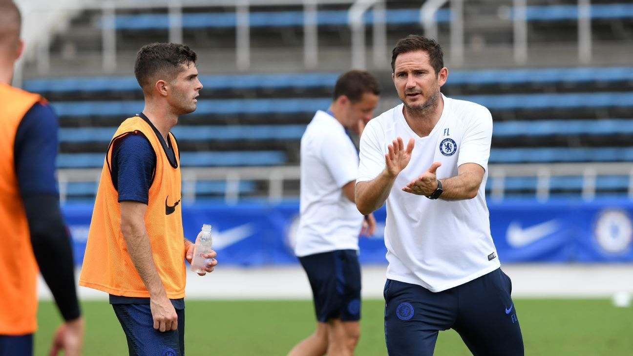 Chelsea's Frank Lampard did not rate Christian Pulisic because he was American - Jesse Marsch - ESPN