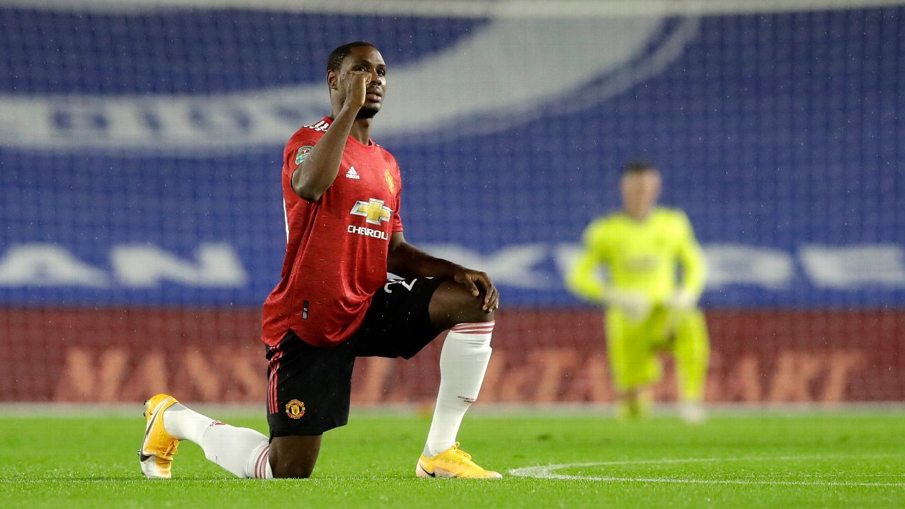 Ighalo confirms Man United exit