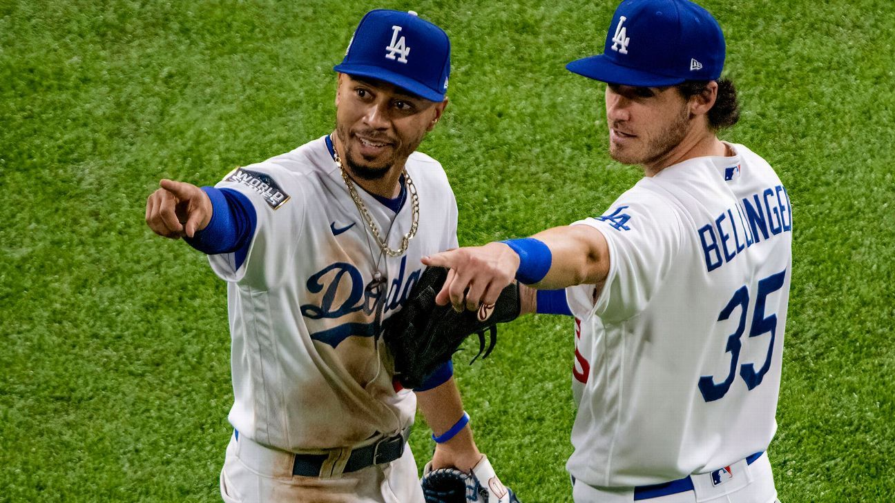 How valuable is Mookie Betts? 25 ways he has helped the Dodgers win
