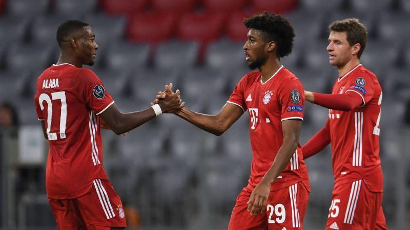 Rampant Coman stars as Bayern thrash Atletico