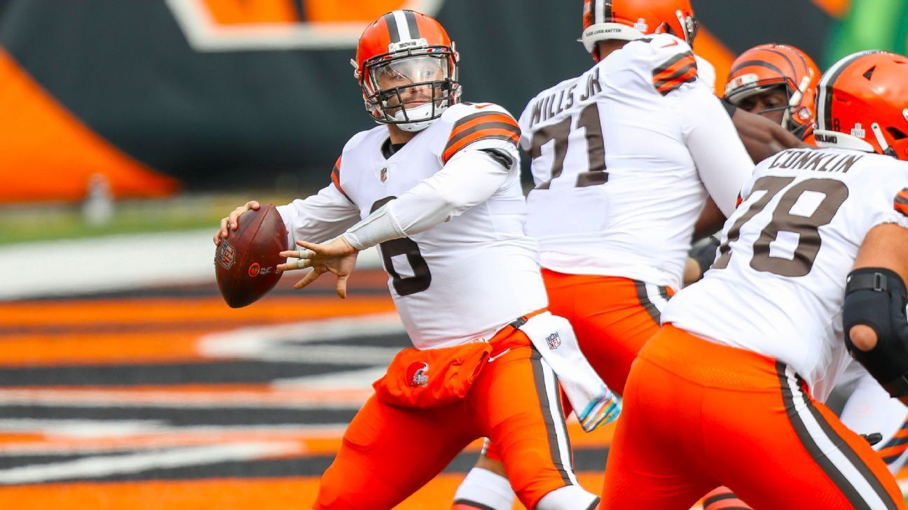 Mayfield outduels Burrow as Browns nip Bengals