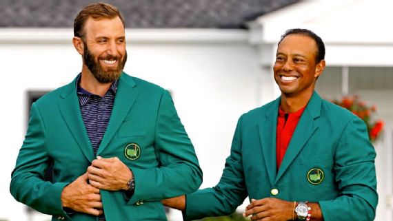 Dustin Johnson Claims Masters Victory