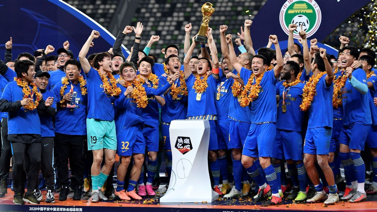 Chinese football in disarray as champions Jiangsu FC cease operations - ESPN India
