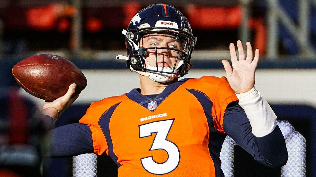 Broncos GM Paton 'high' on Lock, still eyeing QB thumbnail
