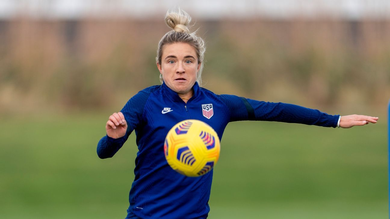 USWNT midfielder  Mewis makes the most of 2020