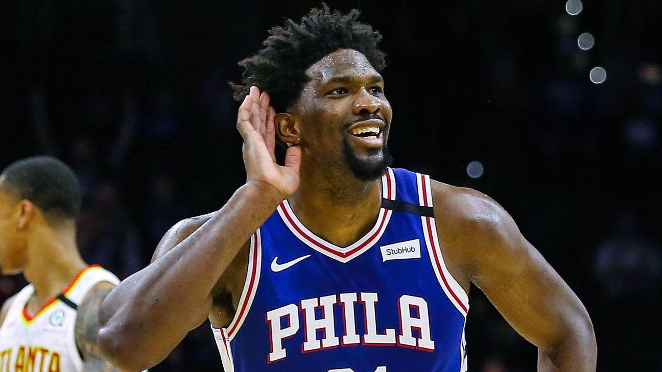 Philadelphia 76ers' Joel Embiid donates $100,000 in All-Star winnings to homeless shelters
