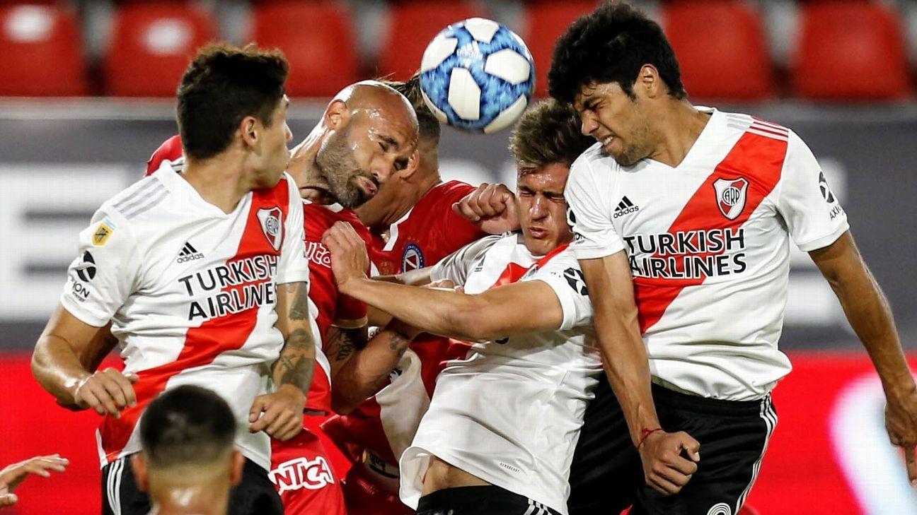 River Plate vs. Argentinos Juniors - Reporte del Partido - 13 diciembre, 2020 - ESPN