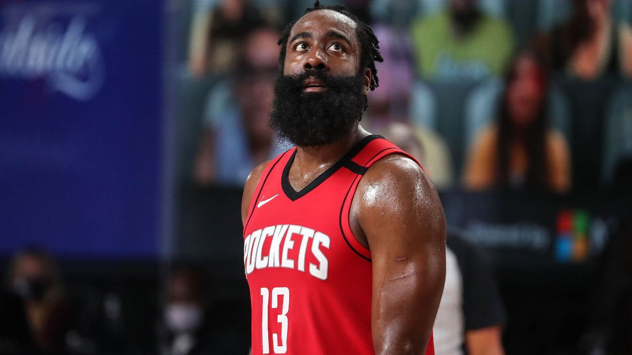 Sources: Houston Rockets expand trade talks beyond James Harden's preferred teams – ESPN