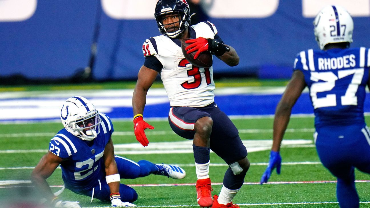 Source: David Johnson reworks deal with Texans